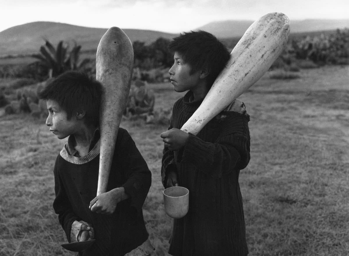 Reyes de bastos, México 1981 - © Flor Garduño